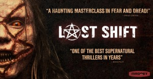Judul: Last Shift Tanggal Rilis: 6 Oktober 2015 Jenis Film: Horor | Misteri | Thriller Sutradara: Anthony DiBlasi Penulis: Anthony DiBlasi, Anthony DiBlasi | Pemain: Juliana Harkavy, Joshua Mikel, J. LaRose Durasi: 90 menit