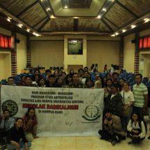 Undang Kejaksaan Tinggi Bali, Program Studi Antropologi Unud Menolak Radikalisme di Kehidupan Kampus
