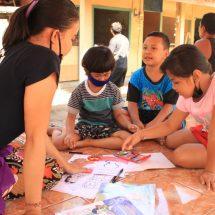 Menuang Dukungan Psikososial : Halau Kejenuhan Anak Saat Pandemi