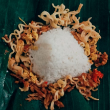 Nasi Jinggo, Hidangan Disegala Keadaan