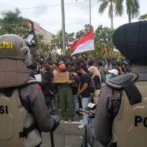 Kronologi Aksi Bali Tidak Diam Menolak UU Cipta Kerja